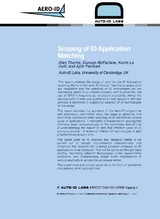 Scoping of ID Application Matching (pdf)